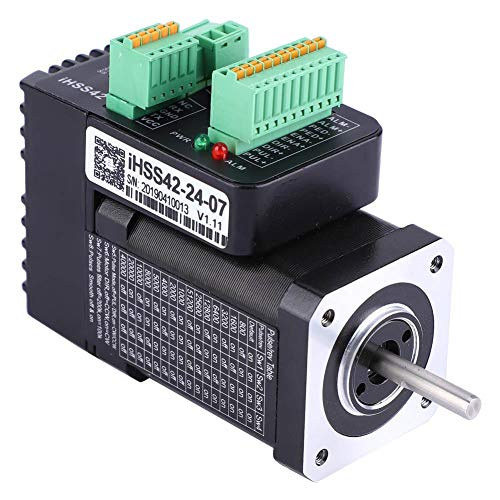 iHSS42-24-07 NEMA17 Motor paso a paso integrado de bucle cerrado 24 V 0,7 Nm completo motor híbrido de 2 fases