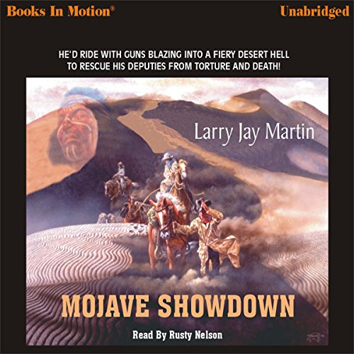 Mojave Showdown audiobook cover art
