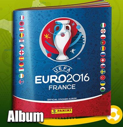 Panini EM 2016 - Sticker - Album - Deutsche Ausgabe