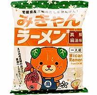 愛媛産真鯛の出汁使用 愛媛県 みきゃんラーメン 真鯛醤油味 インスタントラーメン 袋 116g