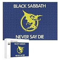 ブラックサバス Black Sabbath 300ピースのパズル木製パズル大人の贈り物子供の誕生日プレゼント