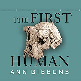 The First Human audiobook cover art