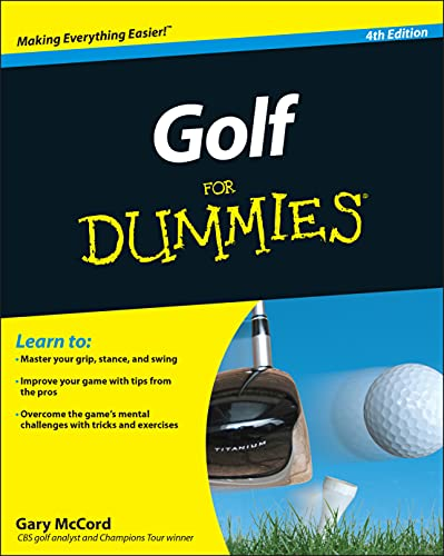 Compare Textbook Prices for Golf For Dummies 4 Edition ISBN 9780470882795 by McCord, Gary
