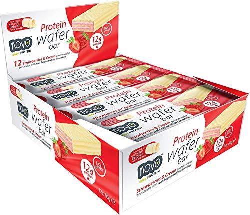 Novo Nutrition Protein Wafer Bar - 480 Gr