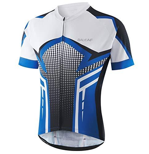 BALEAF Men's Cycling Jersey Short Sleeve Mountain Bike Shirts Full Zipper...