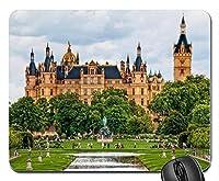 シュヴェリーン城ドイツ新しいデザインラバーコンピューターマウスパッドマット