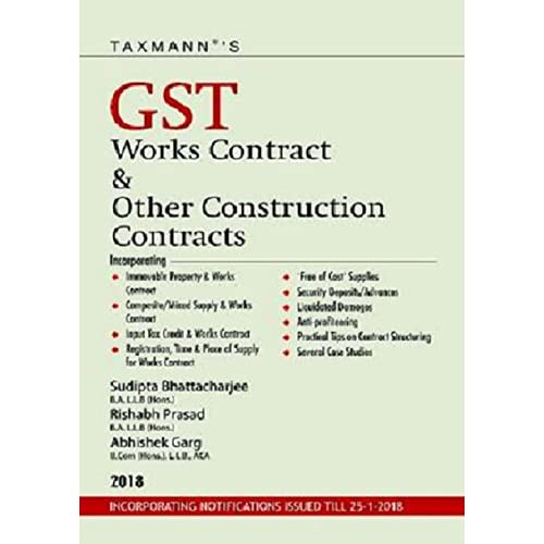 GST Works Contract & Other Construction Contracts (2018 Edition)