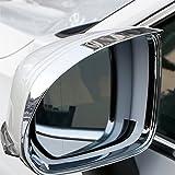 Espejo retrovisor del Coche ceja de Lluvia Visera Parasol Protector de Sombra Accesorios de Cubierta de protecci/ón contra la Lluvia Gnnlor Para Tiguan 2019