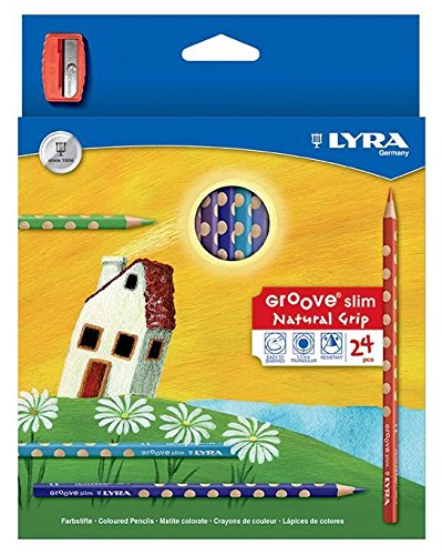 Lyra Groove Slim Est. 24 Uds.+Sacapuntas