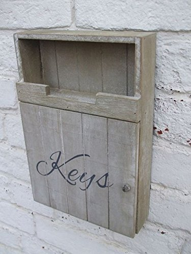 Deko-Impresion Traumschöner Schlüsselkasten, Schlüsselbox, Schlüsselbrett, Holz
