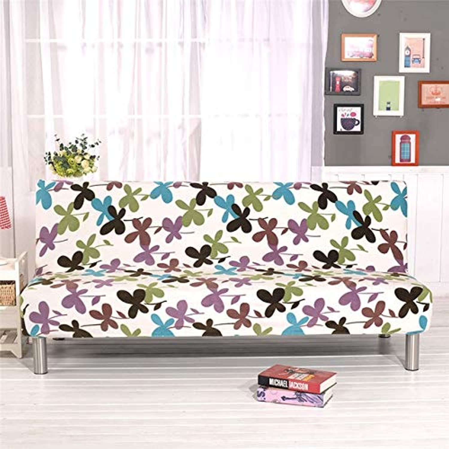 Farmerly All-Inclusive Sofa Couch Cover Foldable Stretch Slipcover Cushion Case Slip-Resistant Sofa Cover Jacquard Sofa Bed Cover   11, S Width 45-55cm