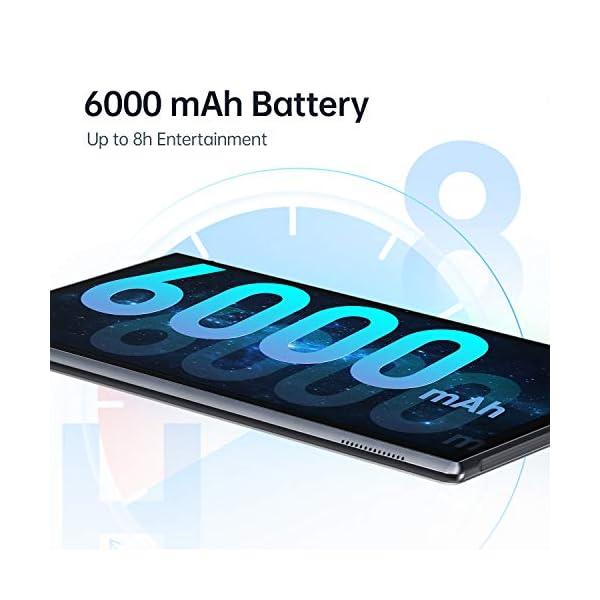 VANKYO MatrixPad S10 10 inch Tablet, Android 9.0 Pie, 32GB ROM, 2GB RAM, 8MP Rear Camera, HD IPS Display, Quad-Core Processor, Wi-Fi, Bluetooth 4.2, GPS, FM, OTG, USB Type-C Charging, Slate Black 5