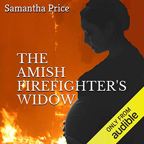 The Amish Firefighter's Widow audiobook cover art