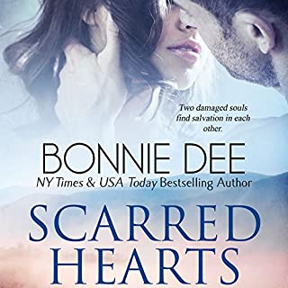 Scarred Hearts audiobook cover art