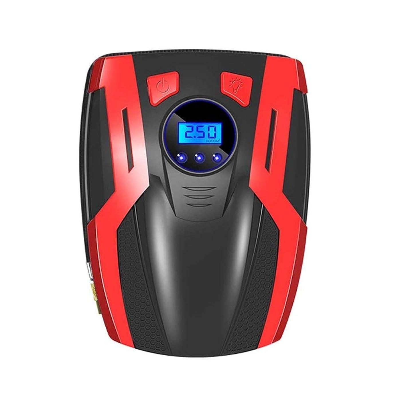 酸度であることエネルギーエアコンプレッサー 車のエアポンプ、自動車および他の膨脹可能なプロダクトのための自動車のエアポンプの携帯用12V金属の電気タイヤのエアポンプの速い充満理性的なデジタル表示装置