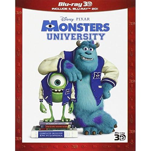 Monsters University (3D) (Blu-Ray 2D + Blu-Ray 3D);Monsters University