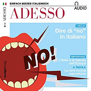 "ADESSO audio - Dire di ""no"" in italiano. 03/2017 Titelbild"