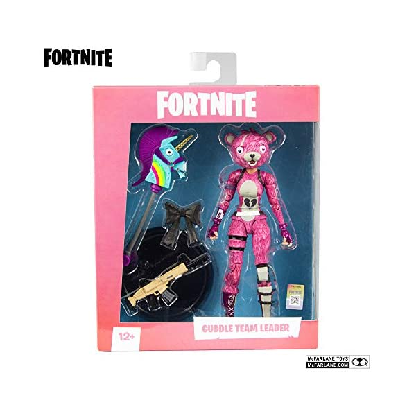 Fortnite - Figura articulada Cuddle Team Leader 18cm 4