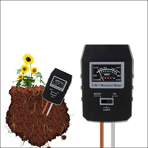 Fantastic Prices! Youanshanghang Tester RZ97 Mini Soil PH Moisture Humidity Measuring PH Meter Soil ...