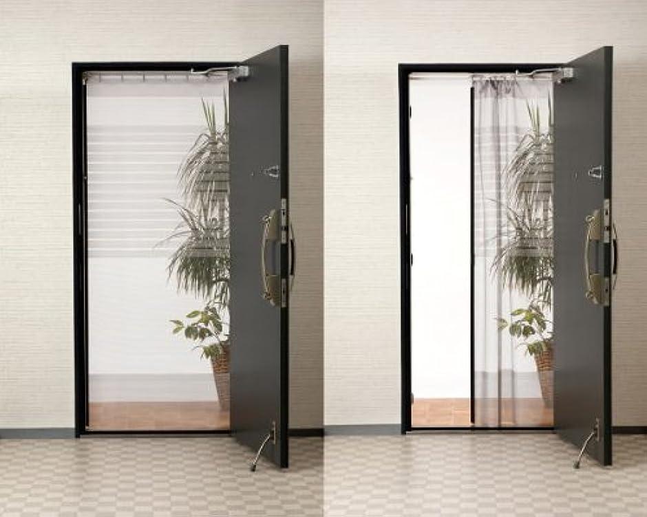 外国人決定する意味新簡単網戸 玄関網戸 自然の風を通し、出入りもスムーズな全開式玄関網戸 (すだれ、スクリーン、網戸カーテン)