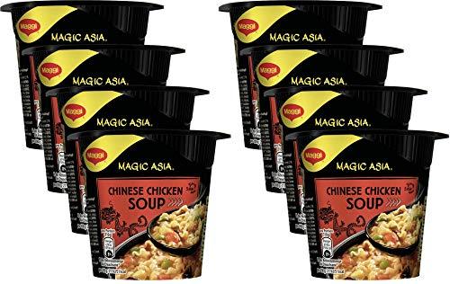 Maggi Magic Asia Terrine Chinese Chicken Soup, 8er Pack (8 x 45g)