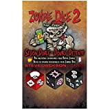 Edge Entertainment-Dados Zombie 2: Sesión Doble (Asmodee, EESJZD02)