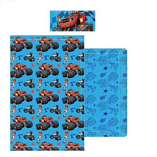 Nickelodeon - Juego Sábanas Blaze and the Monster Machines, para cama 90 cms.