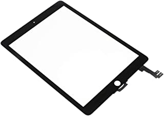 Blesiya Tablets Screen Replacement, Digitizer Touch Screen Front Glass Assembly for iPad 6 Air 2 A1566 A1567 Series Black