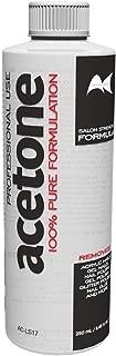 Artists Choice 100% Pure Acetone 250ml Gel Acrylic Nail Polish Soak Off Remover