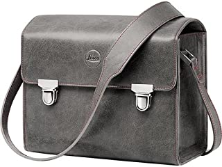 Leica T-System case, Small Size (Leather Stone Grey)