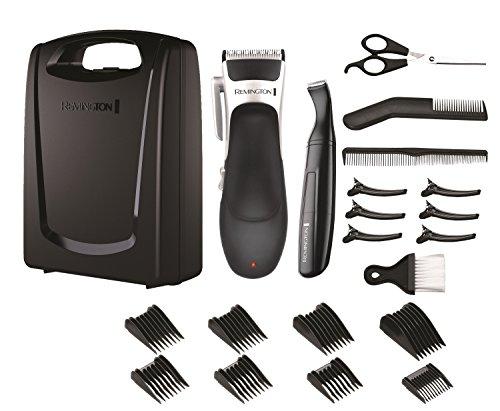 Remington Stylist Hair Clippers, Cordless Use with 8 Comb Lengths and...