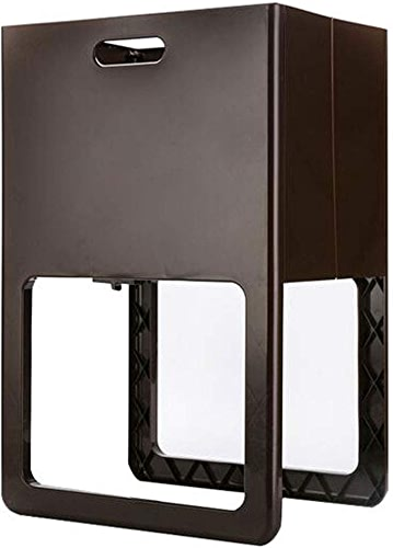 Zhjsnlhfddf Panier De Rangement pour Panier à Linge Panier à Linge Maison Panier IKEA en Plastique I (Couleur   marron)