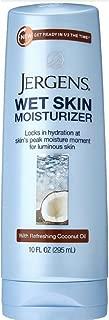 Jergens Wet Skin Moisturizer Coconut Oil 10 Ounce (295ml) (3 Pack)