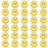 Demiawaking Tacchetti per Ramponi Ghiaccio Tacchetti Trazione Antiscivolo Borchie Denti di Ricambio per Ramponi da Ghiaccio Neve Accessori per Copriscarpe Antiscivolo (Giallo, 10 Pezzi)