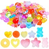 110 Pieces Candy Resin Slime Charms Star...