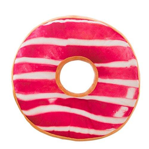Hirolan weich Plüsch Kissen gefüllt Sitz Polster süß Kissen Abdeckung Spielzeug (40cm x 40cm x 12cm, H)