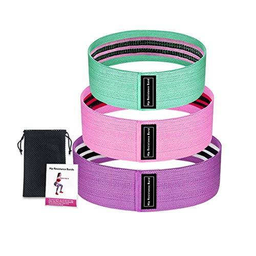 MBV Fitness Gummibänder Expander Elastikband für Fitness Elastikbänder Widerstand Trainingsgerät multi