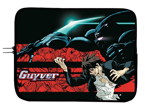 Guyver Anime Laptop Sleeve Bag 15 Inch Notebook Bag Tablet and Book Case/Mousepad Surface/MacBook Pro Sleeve Bag MacBook Air Water Repellent