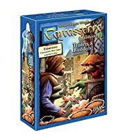 Z-Man Games カルカソンヌ トレーダーズ&ビルダーボードゲーム ファミリーボードゲーム 大人と家族のボードゲーム 戦略ボードゲーム 中世アドベンチャーボードゲーム 2~6人用