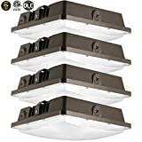4Pack LED Canopy Light 80W,ETLus-Listed and DLC-Qualified 5000K...