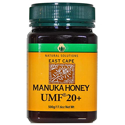 Natural Solutions Manuka Honey UMF 20 - MGO 850+ Certified East Cape Te Araroa New Zealand (Large)