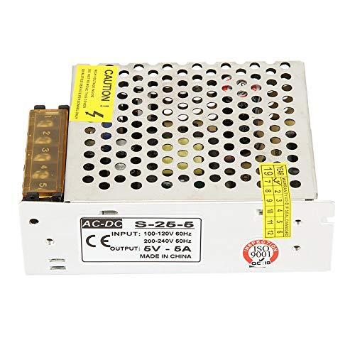5V DC Fuente de alimentación del interruptor, convertidor del voltaje del conductor de la fuente de alimentación de la transferencia 10W / 25W para la exhibición(5V 5A)