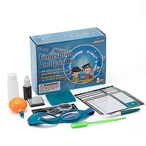 SWIFT - Kit detección huellas dactilares niños