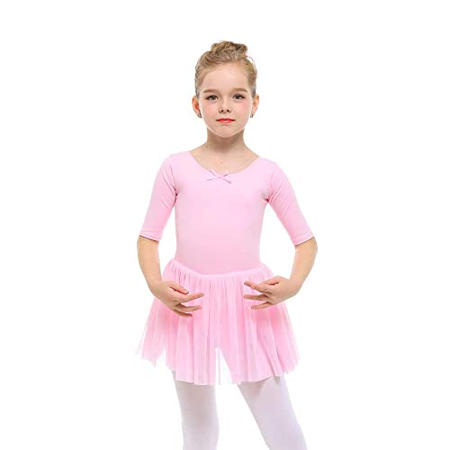 195348b33 STELLE Toddler/Girls Cute Tutu Dress Leotard for Dance, Gymnastics and  Ballet