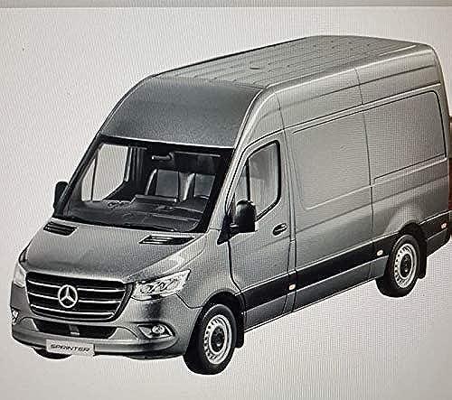 Mercedes Benz W907 910 Sprinter Kastenwagen 2018 Grau Modellauto Ma ab 1 18 Metall OVP