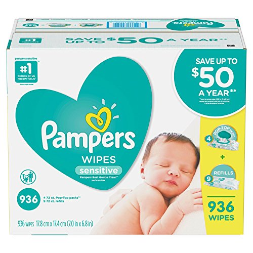 an Item of Sensitive Baby Wipes (936 ct.) - [Bulk Saving]