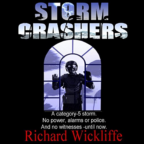 Storm Crashers audiobook cover art