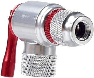SK=1 自転車ミニインフレータマウンテンロードバイクCO2インフレータブルヘッドアダプタタイヤポンプポータブルインフレータ自転車バルブインフレ (Color : Adapter)