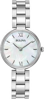Bulova - Diamond Classic 96L229 - Reloj de Pulsera de Diseño Elegante para Mujer - Acero Inoxidable - Esfera de Nácar