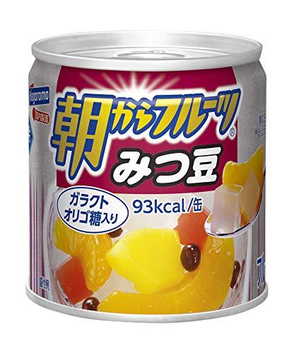 はごろも 朝からフルーツ みつ豆 190g (4081) ×24個